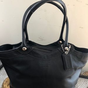Coach leather large hobo purse